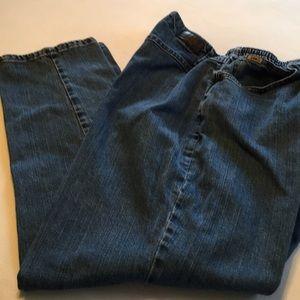 Lee side-elastic jeans 22W medium
